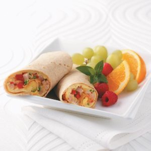 Omelet Tortilla Wrap