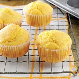 Orange Corn Muffins