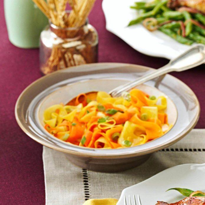 Orange-Glazed Carrots and Parsnips