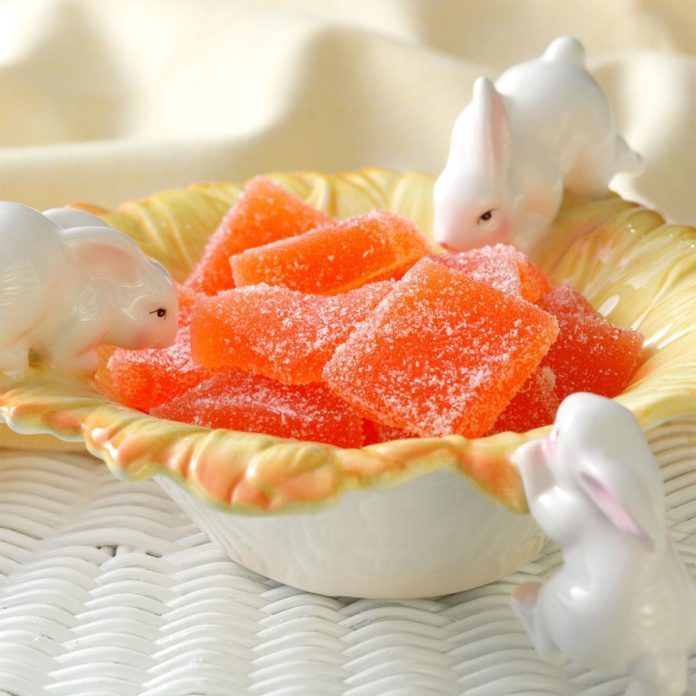 Orange Jelly Candies