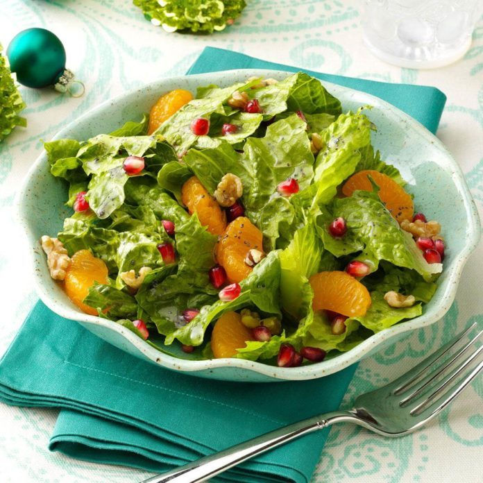 orange poppy seed salad recipe taste of home