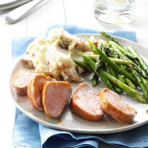Oven-Barbecued Pork Tenderloins