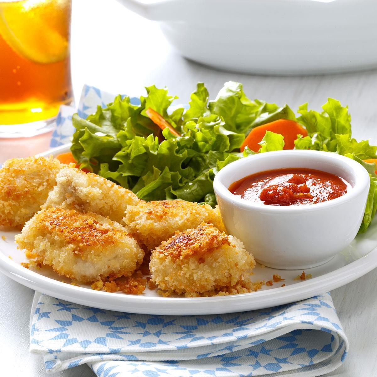 Parmesan Chicken Nuggets Recipe
