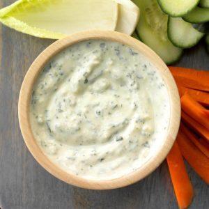 Parmesan Yogurt Dip