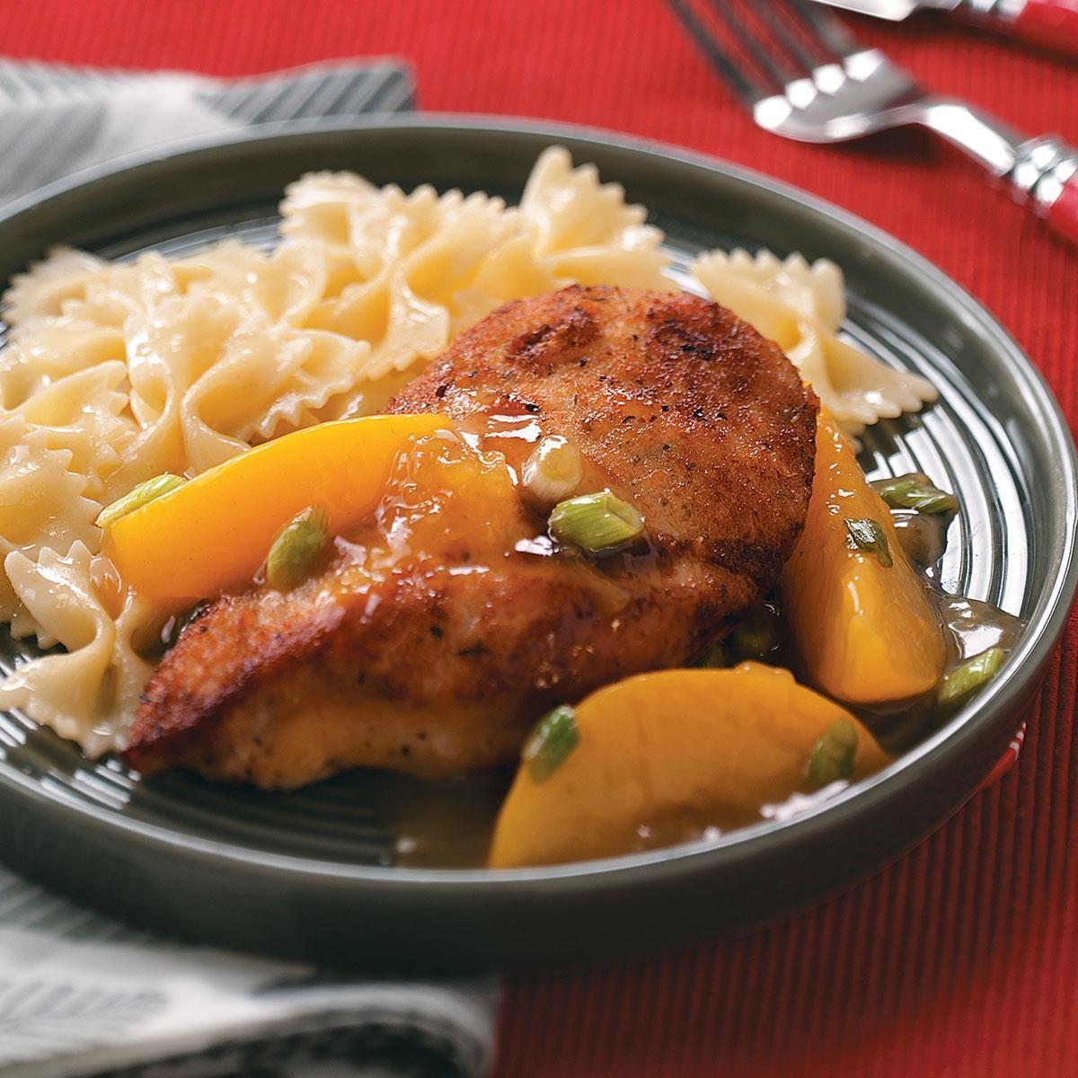 Peach Chicken Recipe