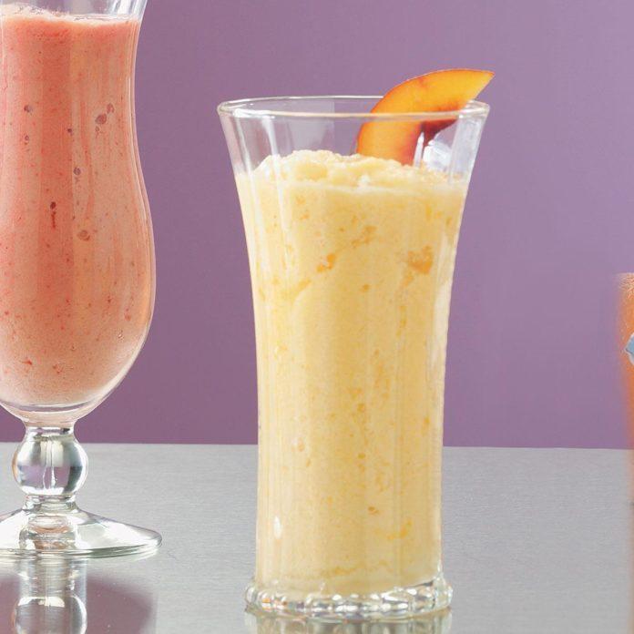 Peach Citrus Smoothies