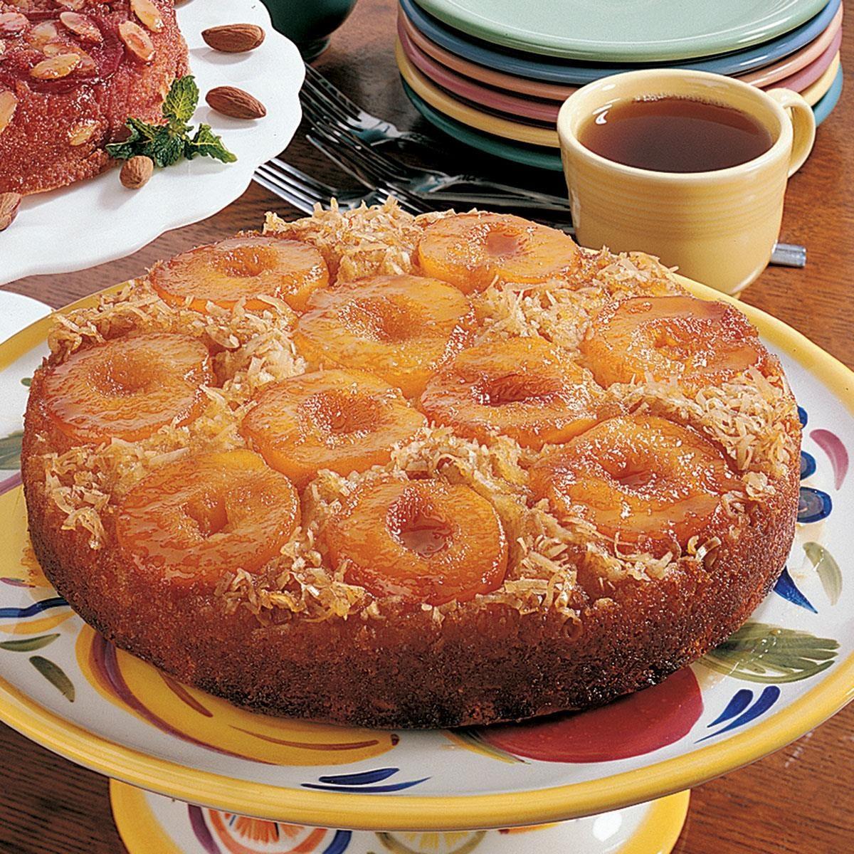 Taste Of Home Magazine Peach Cake
