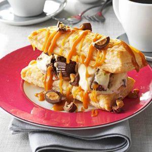 Peanut Butter Cup Napoleons