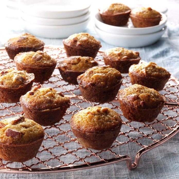 Alabama: Pecan Pie Mini Muffins