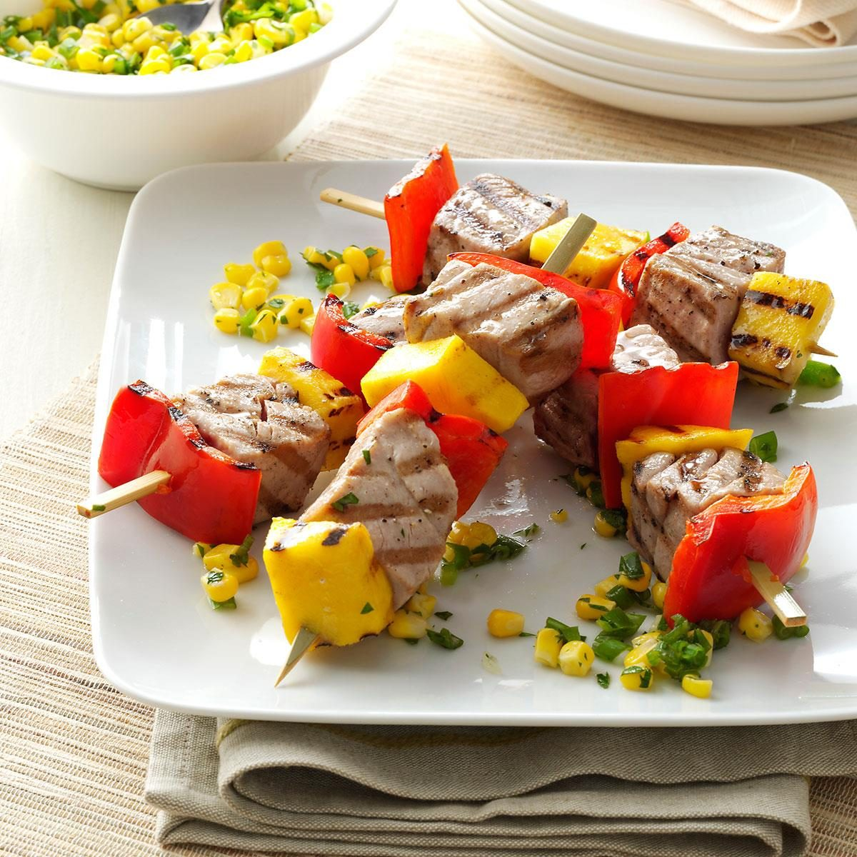 Peppered Tuna Kabobs Recipe Taste Of Home