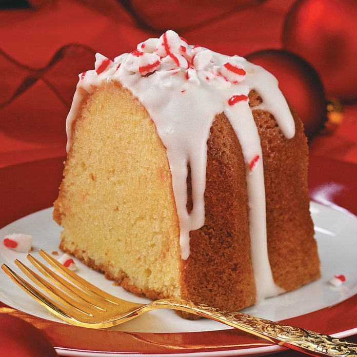 Peppermint Pound Cake Recipe