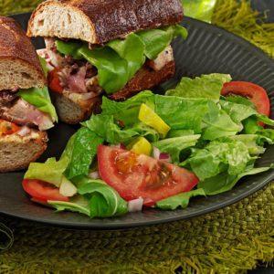 Pepperoncini Arugula Salad