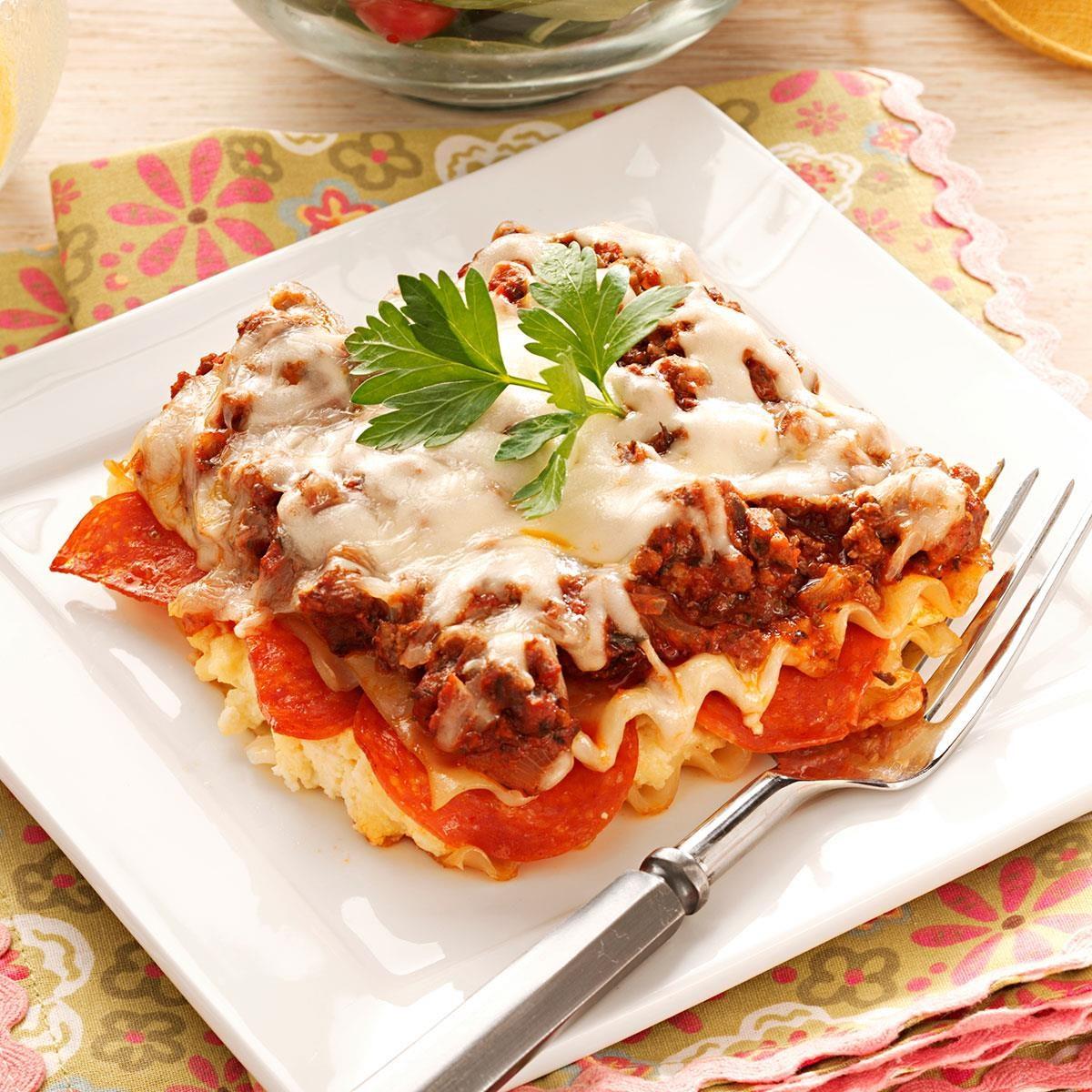 Pepperoni Lasagna Recipe