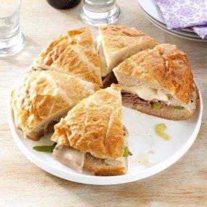 Philadelphia Beef Sandwich
