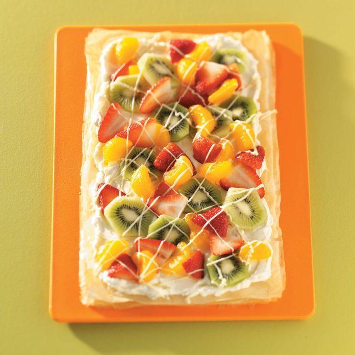 Phyllo Fruit Tart