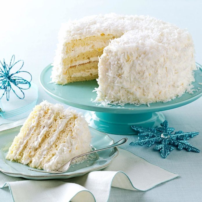 Coconut Lemon Cake Recipe Southern Living