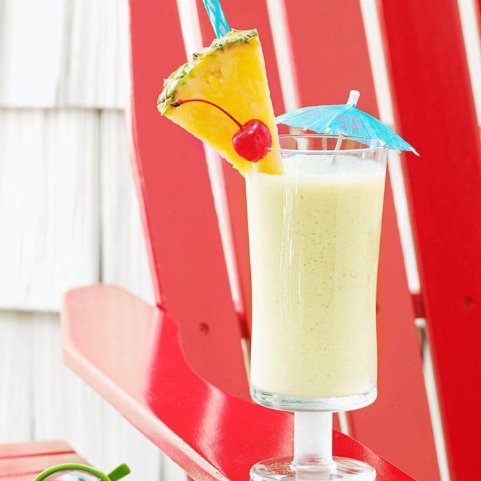 Pineapple Colada Shake