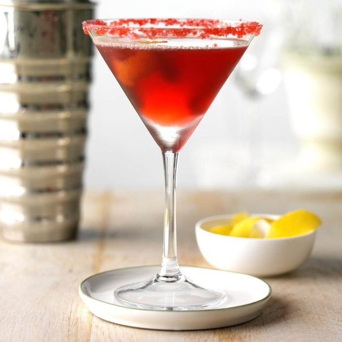 Pomegranate Cosmo