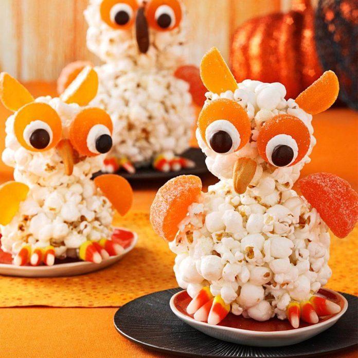 Popcorn Owls