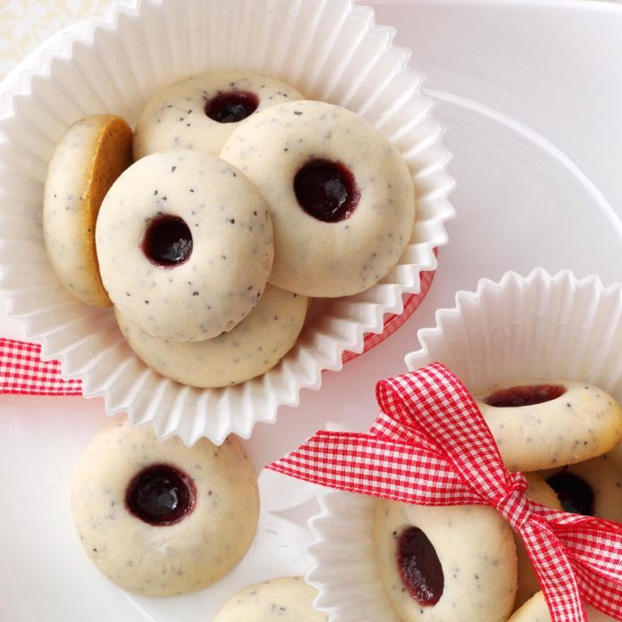 Poppy Seed Thumbprints