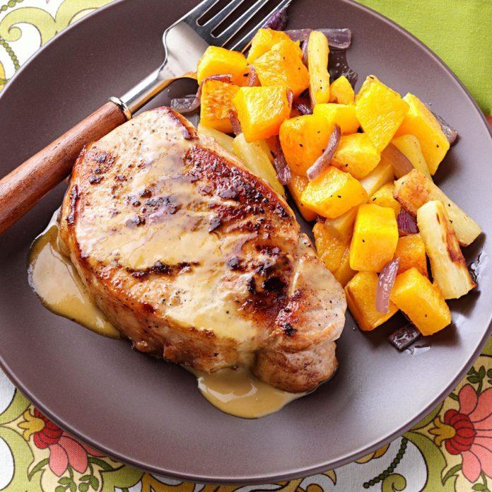 Image result for Honey Mustard Pork Chops
