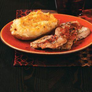 Pork Tenderloin with Raspberry Dijon Sauce