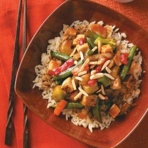 Pork & Vegetable Stir-Fry