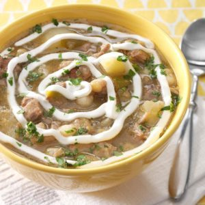 Pork and Green Chili Stew