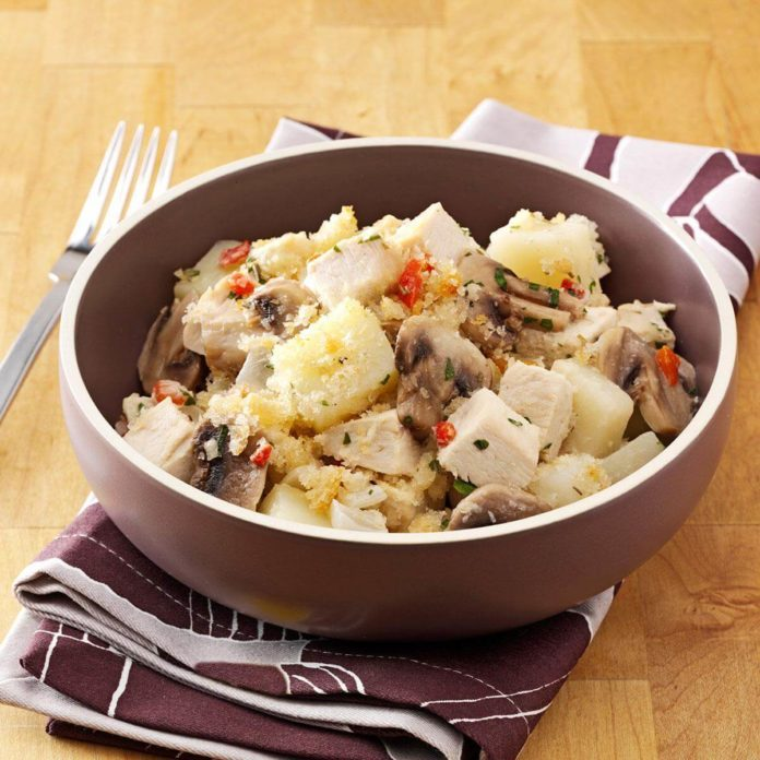 Potato Chicken Casserole