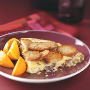 Potato & Red Onion Frittata
