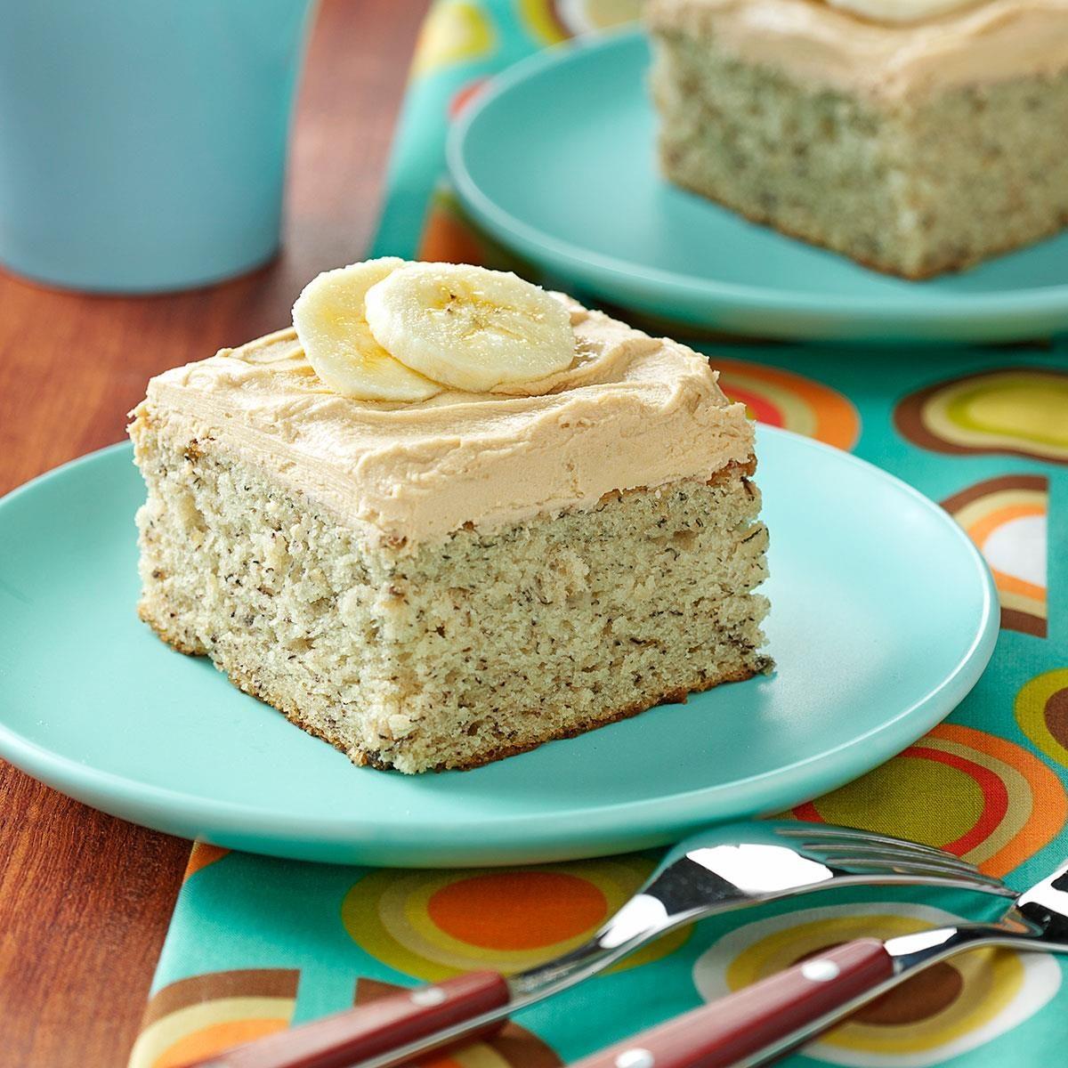 Easy Banana Cake Recipe Using Cake Flour