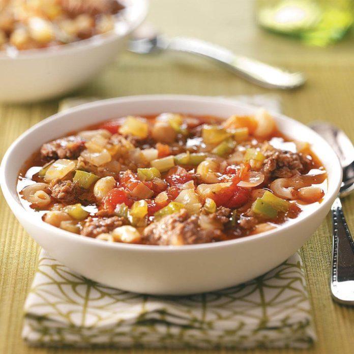 Potluck Pasta Soup
