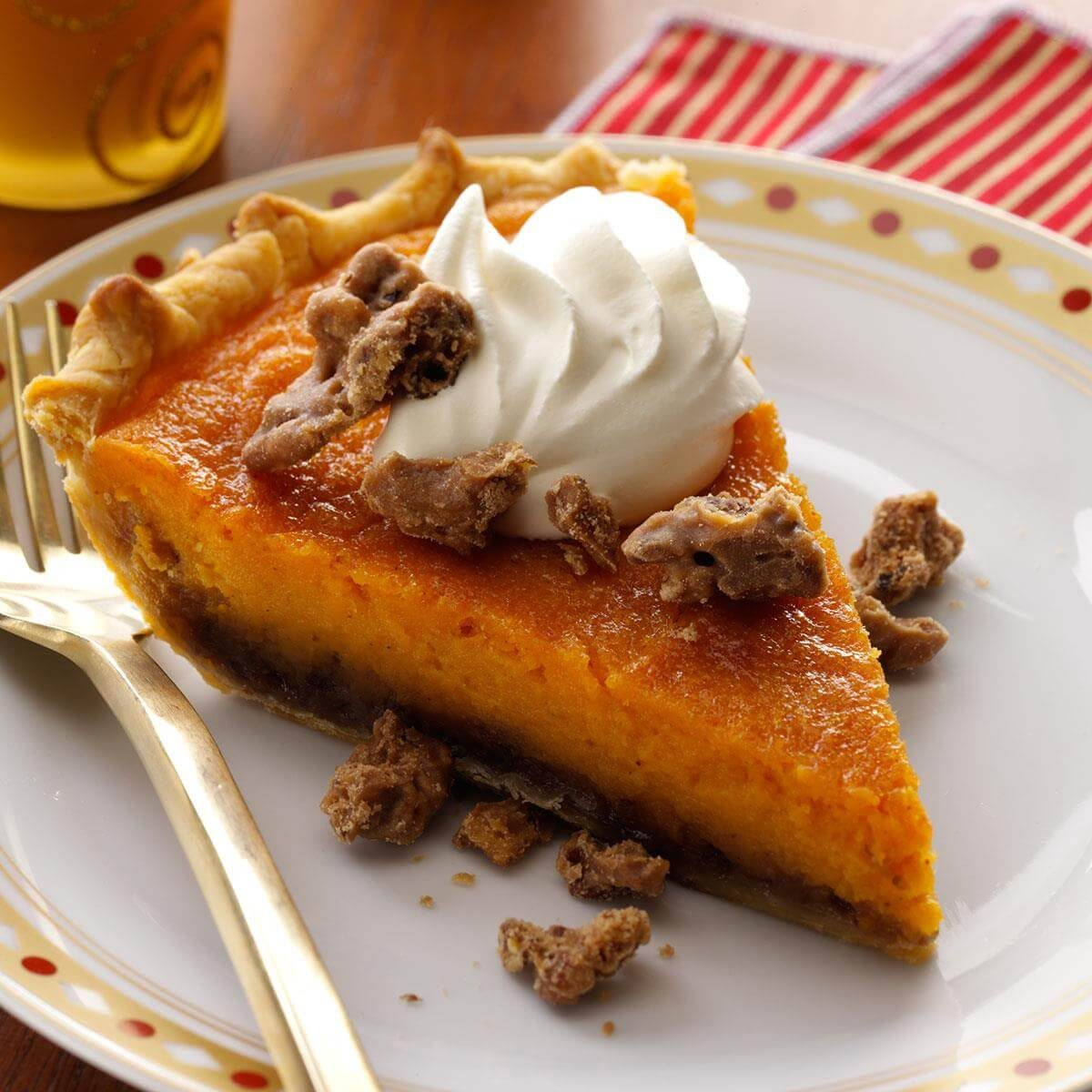 Praline Sweet Potato Pie Recipe | Taste of Home