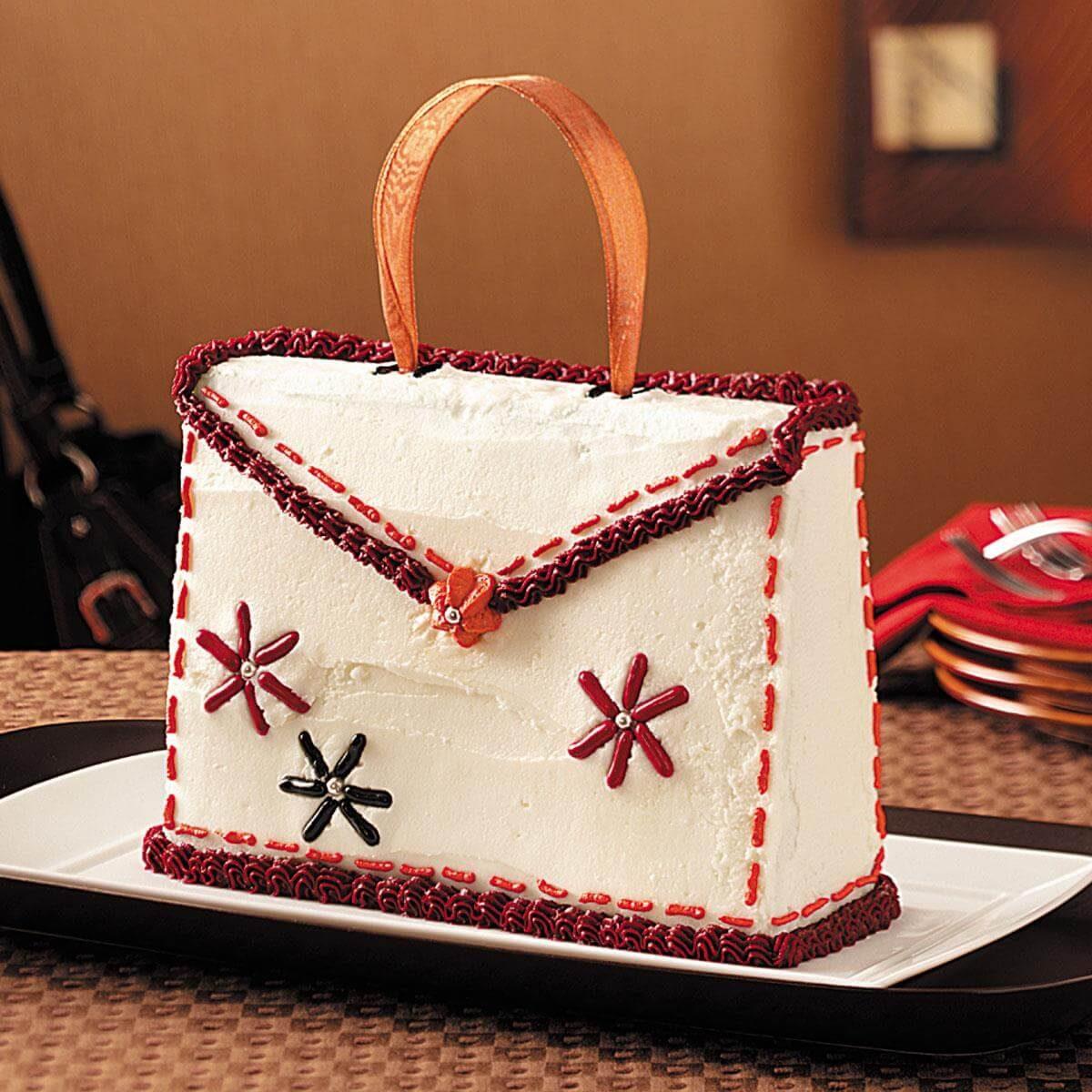 Purse Cake Recipe Taste Of Home