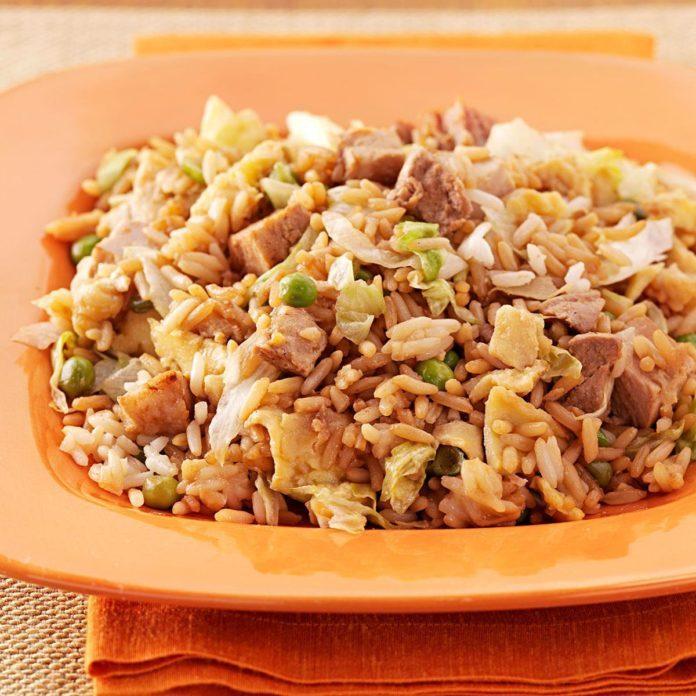 Quick Pork Fried Rice