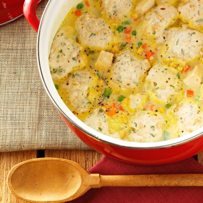 Quicker Chicken and Dumplings