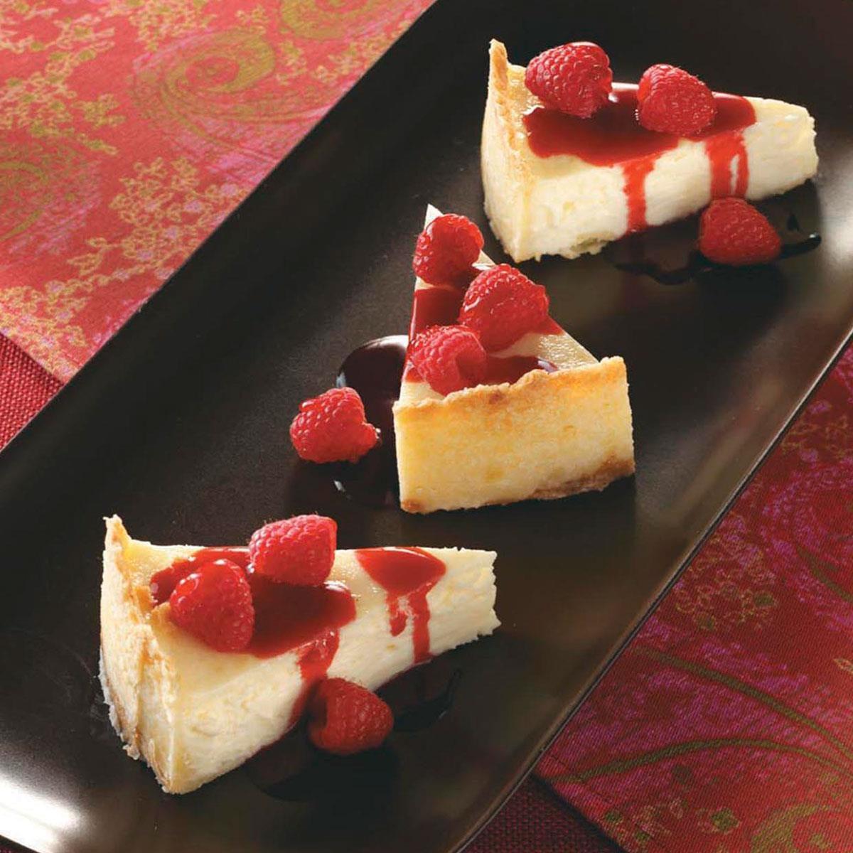 Raspberry Cheesecake Recipe | Taste of Home