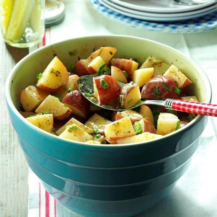 Red Potato Salad Dijon