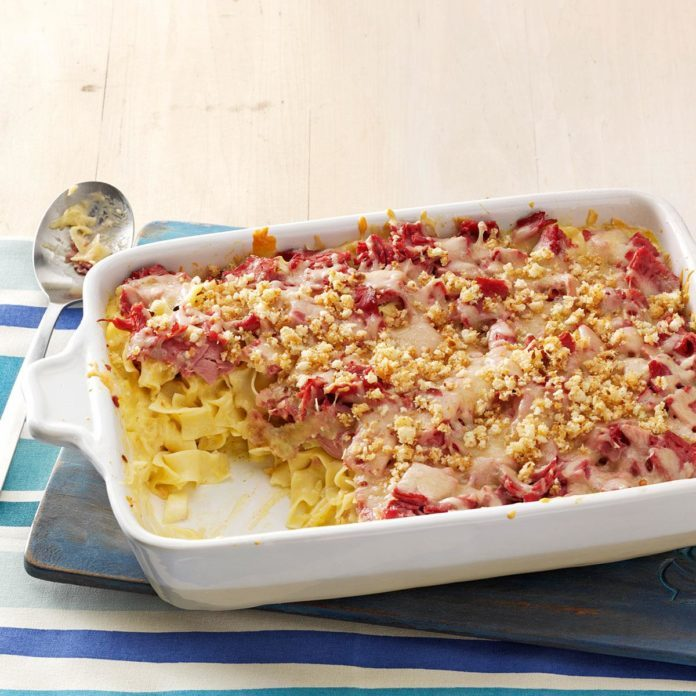 South Dakota: Reuben Noodle Casserole