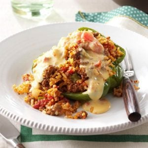 Rice-Stuffed Peppers