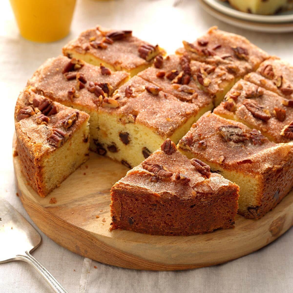 Rich Chocolate Chip Coffee Cake Recipe | Taste of Home