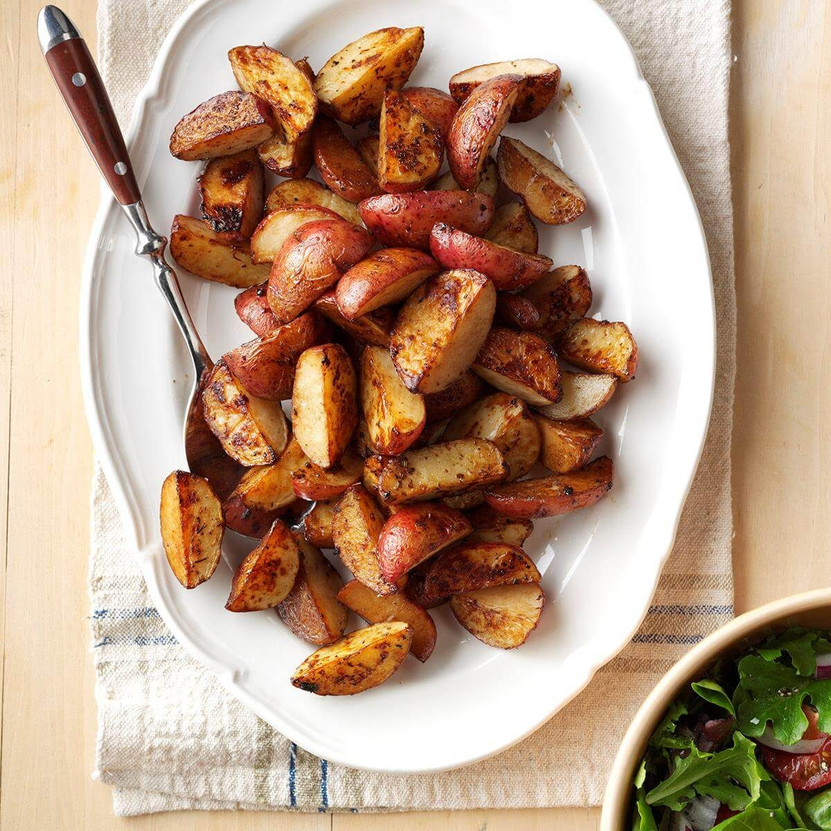 Roasted Balsamic Red Potatoes Recipe