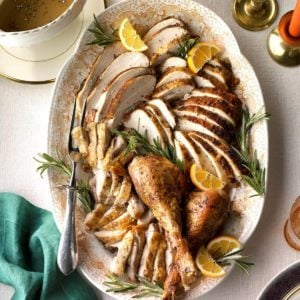 Roasted Citrus & Herb Turkey