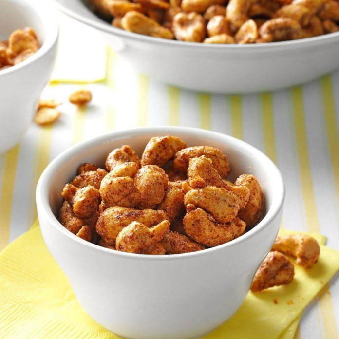 Roasted Cumin Cashews