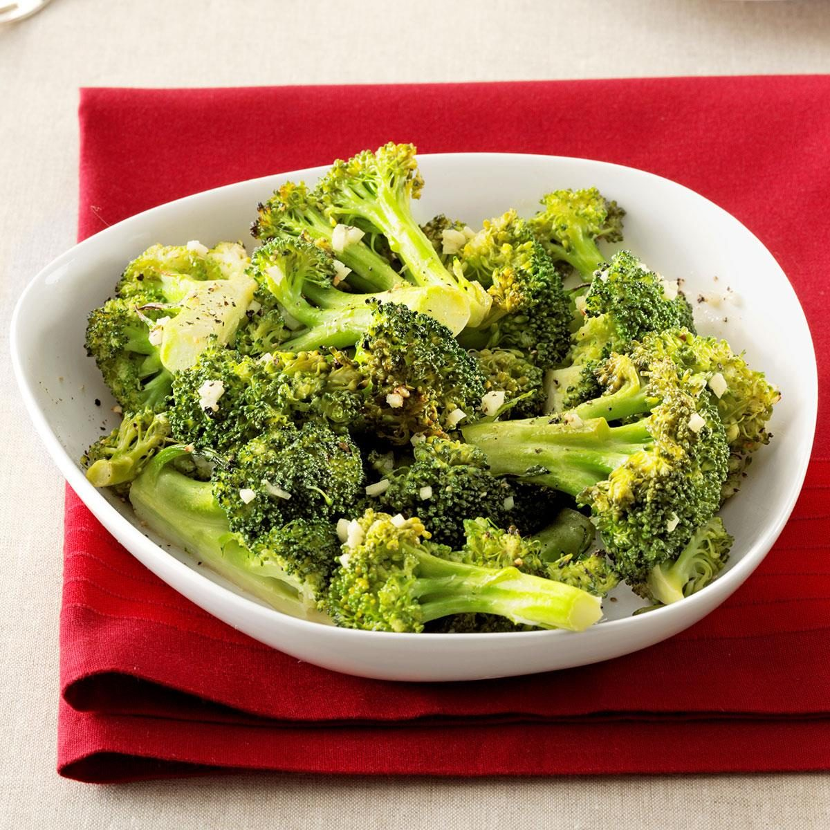 Roasted Dijon Broccoli
