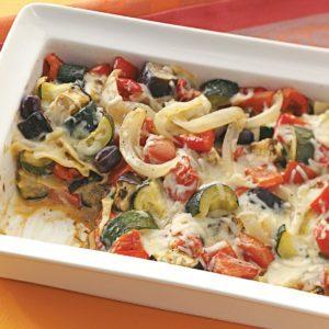 Roasted Eggplant Lasagna
