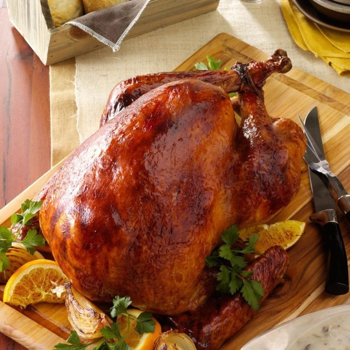 Roasted Orange Turkey