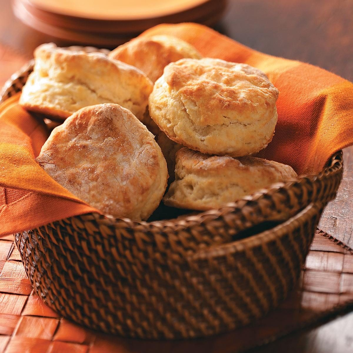 Rolled Buttermilk Biscuits Recipe