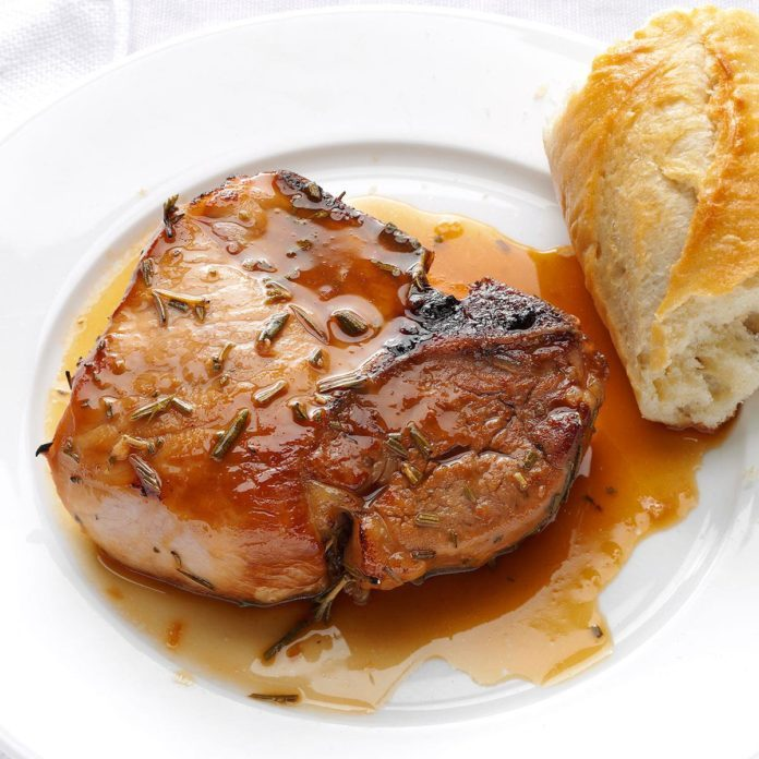 Rosemary Marinated Pork Chops
