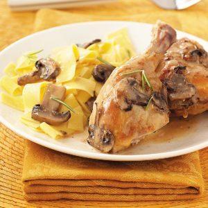 Rosemary Mushroom Chicken